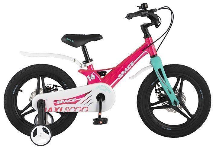 """Детский 2- колесный велосипед Maxiscoo Space Делюкс,16"""" (2021)"""