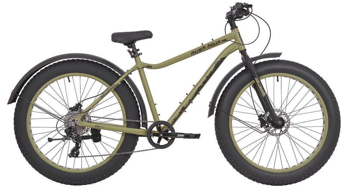 "Велосипед 26"" 8ск RUSH HOUR BULLDOZER HDISC AL"