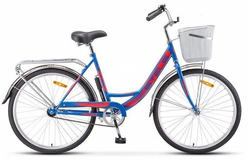 """Велосипед STELS Navigator 245 26"""" Z010 (с корзиной)"""