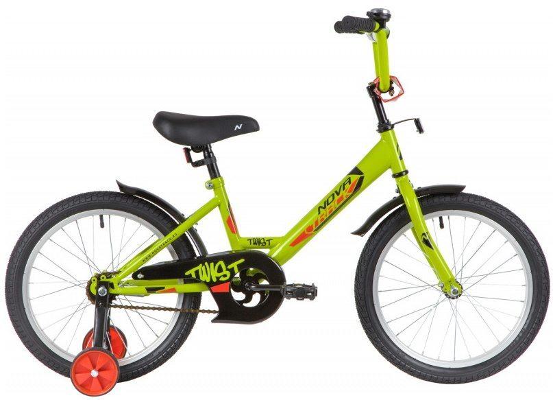 """Велосипед детский двухколесный NOVATRACK TWIST  18"""" 2020"""