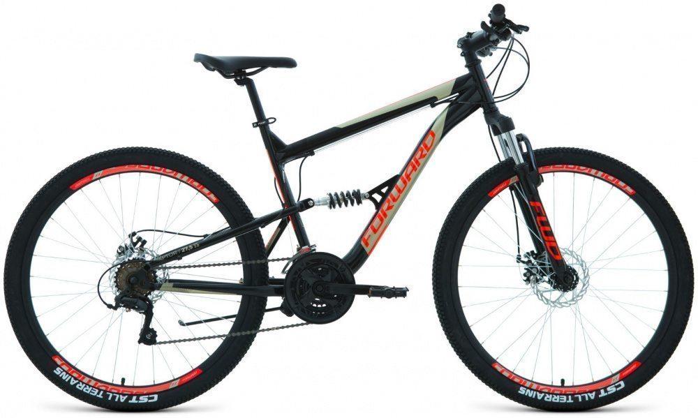 Горный велосипед Forward Raptor 27,5 2.0 disk (2019-2020)