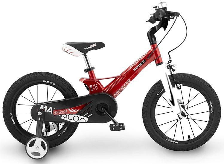 """Детский 2- колесный велосипед Maxiscoo Space Стандарт, 18"""" (2020)"""