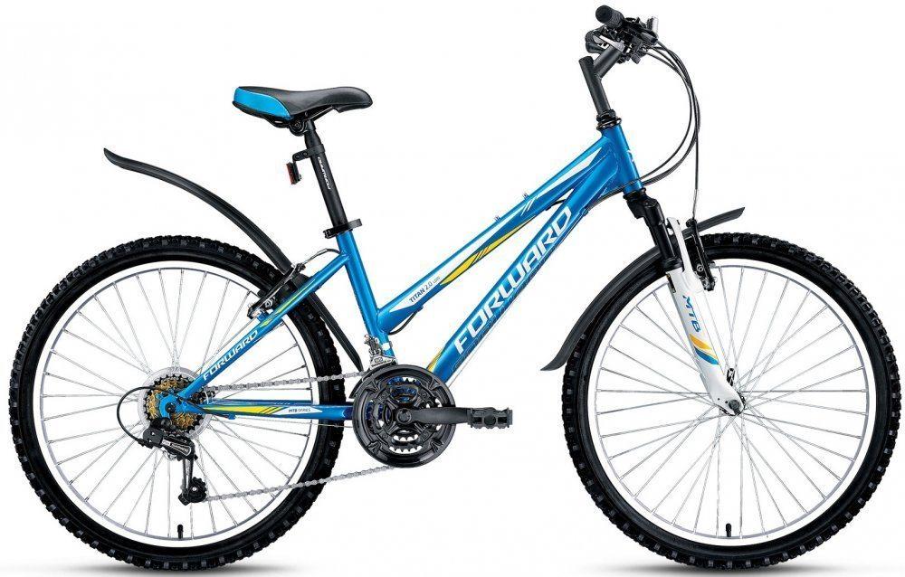 Подростковый велосипед Forward Titan 2.0 low (2017-2018)
