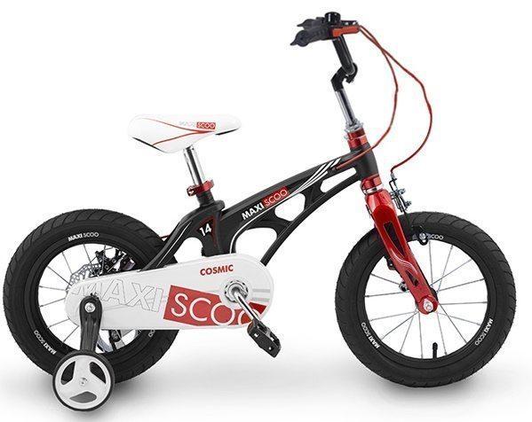 """Детский 2- колесный велосипед Maxiscoo Cosmic Стандарт 14"""" (2020)"""