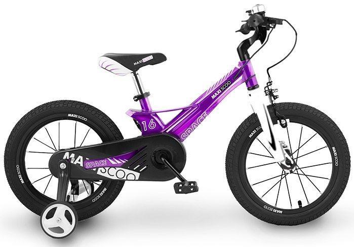 """Детский 2- колесный велосипед Maxiscoo Space Стандарт, 16"""" (2020)"""