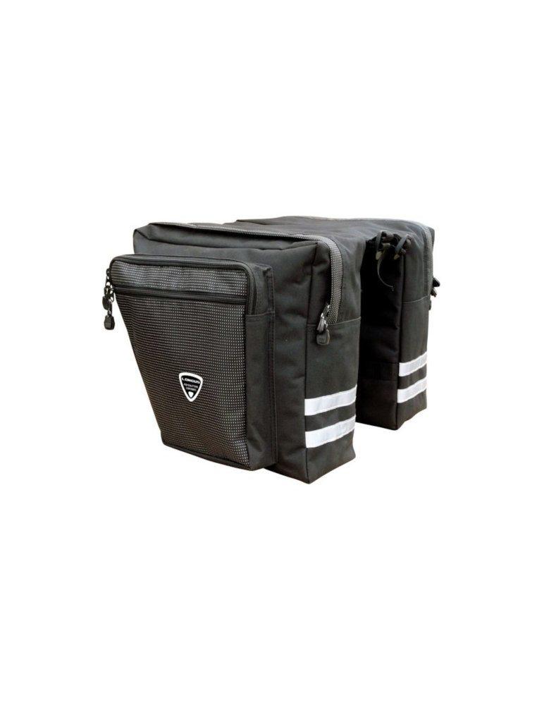 Велосумка на багажник с карманами