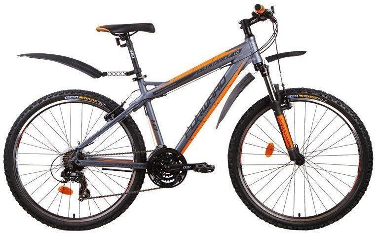 Горный велосипед Forward Quadro 1.0 алюм. (2016)