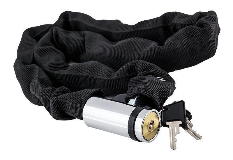 Замок цепной MIZUMI RealSafe с ключами: 8 мм х 90 см