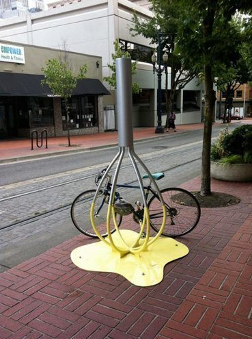 креативные велопарковки